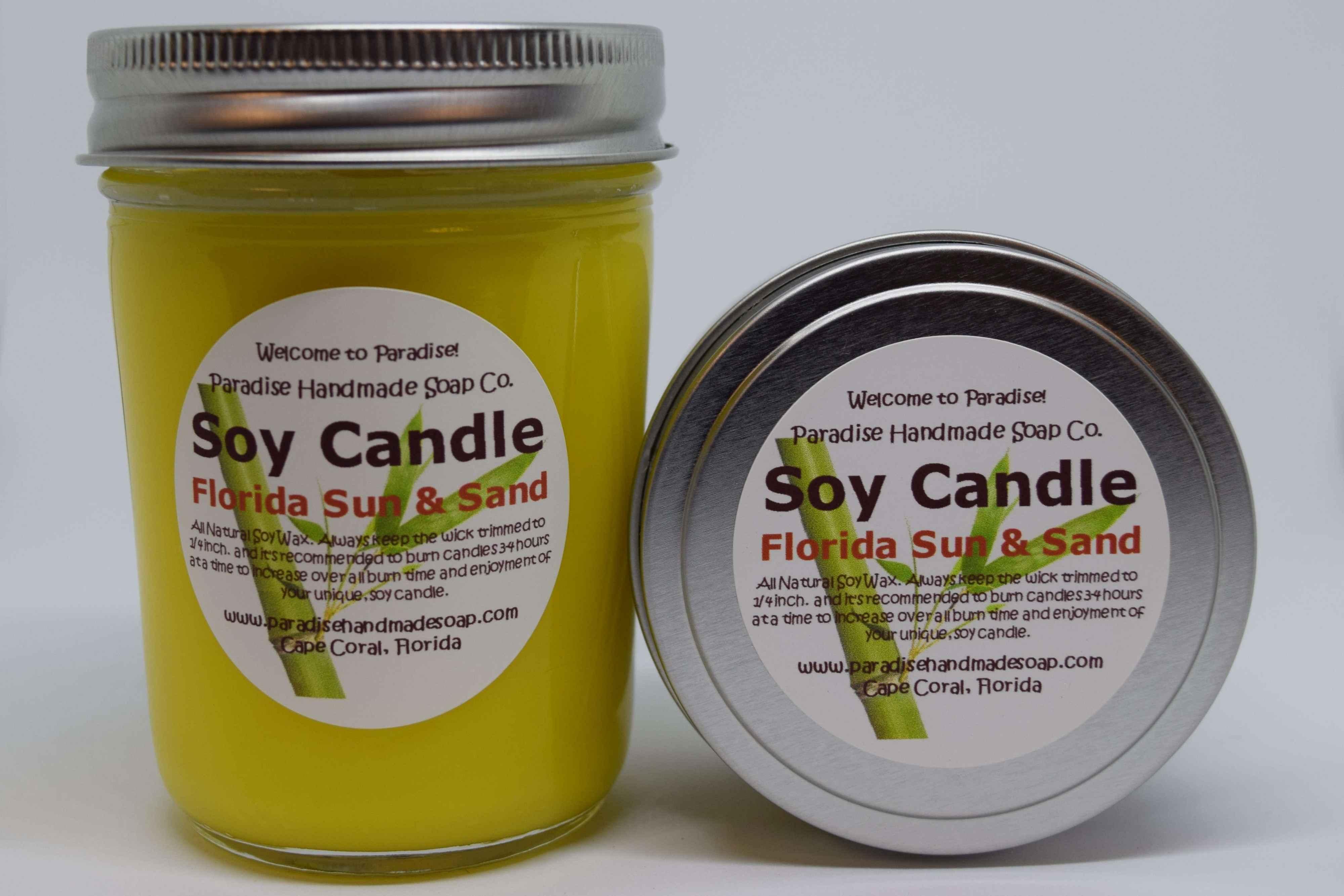 Florida Sun & Sand Candle