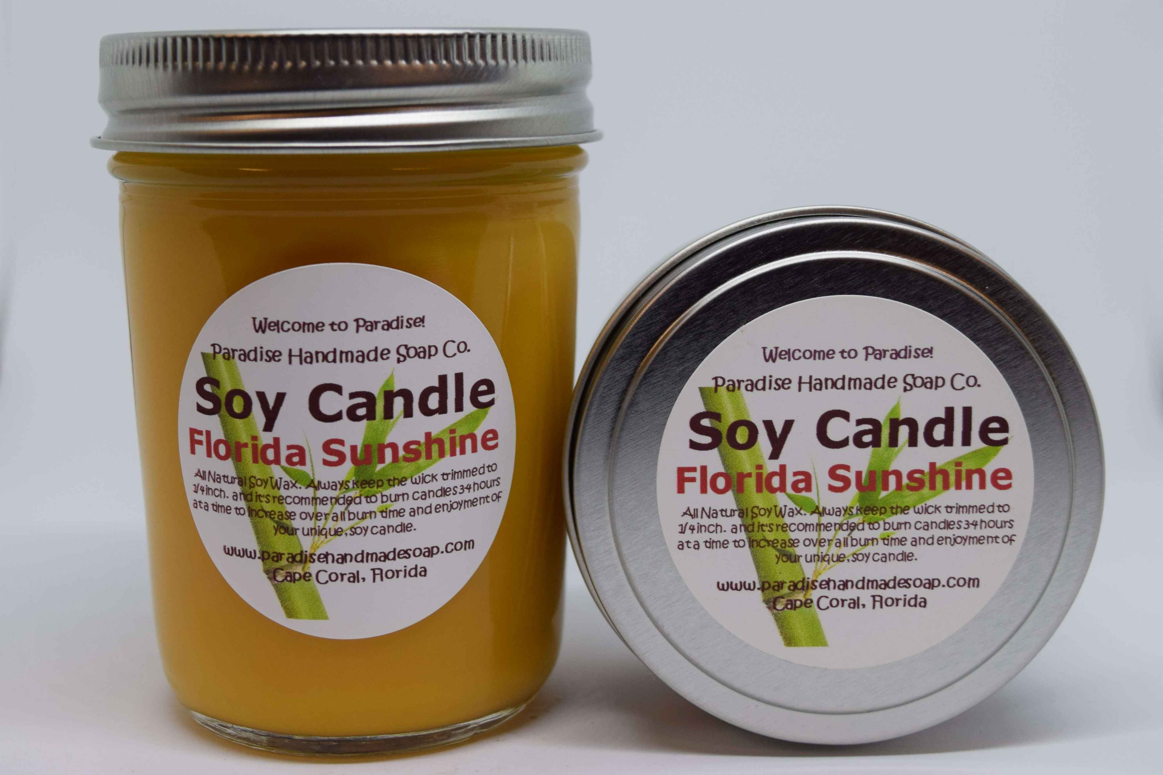 Florida Sunshine Candle