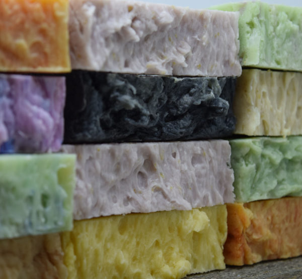 8 Bar Unwrapped Your Choice pack of soap by Paradise Handmade Soaps