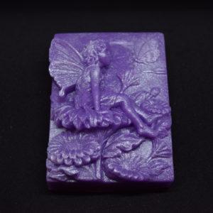 Fairy on a bar of novelty glycerin soap style 2.
