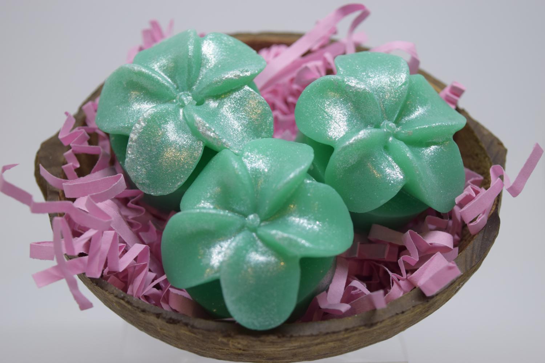 Plumeria Flowers Decorative Soap